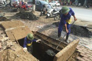 Thông hút bể phốt tại Thanh Hà