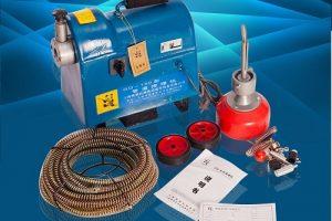Cấu tạo và nguyên lý hoạt động của máy lò xo thông tắc cống – bồn cầu