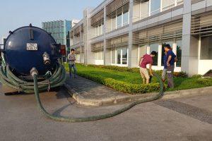 Nhận hút bể phốt khu công nghiệp tại Hải Dương uy tín bảo hành dài hạn