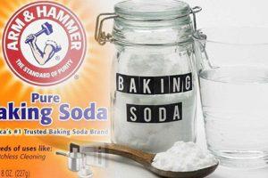 Công dụng tuyệt vời của baking soda trong đời sống