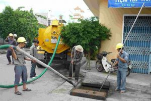 Thông hút bể phốt tại Mỹ Lộc